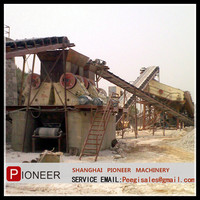 High crushing ratio and efficiency stone crusher plant prices