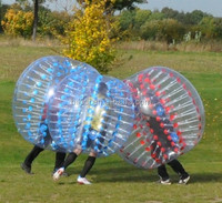 NO 1 SALE!! soccer bubble and bubbleball, body ball with comfortable belt and handles