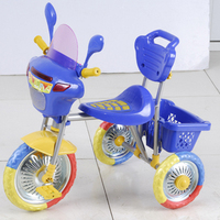 Cheapest toy plastic baby tricycle for kid ride on with three wheels