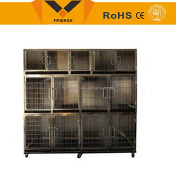 Indoor or Outdoor strong stainless steel dog cage