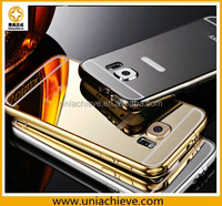 For Samsung S6/S6 edge Case Rugged Dual Layer Case [Case Cover + Tempered Glass 0.4mm Screen Protector]