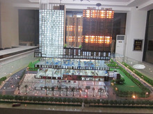 New Products commercial building model, 3d building model, real estate model