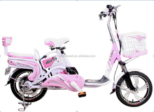 """16""""H-SWALLOW electric bicycle/bike for woman with lead-acid battery SWEB020"""