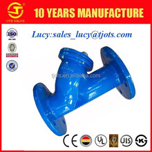 pn16 y type filter cast iron ductile iron