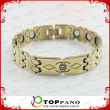 brand new men's titanium energy high quality bracelet jewelry