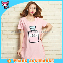 Summer Big Size T Shirt for Pregnant