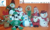 wholesale cute cheap plush christmas gift series stuffed toy