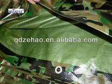 china pe tarpaulin factory&pe tarpaulin for camouflage camping tent&aluminium eyelet pe tarpaulin