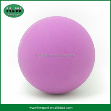 Promotion toy rubber hollow bouncy ball