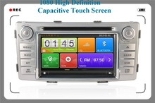1080 High Definition Capacitive touch screen Car audio for Toyota Hilux New,car Bluetooth MP3 player