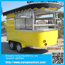 YY-CR320 2015 china supplier 2015 latest new type electric mobile fast food car