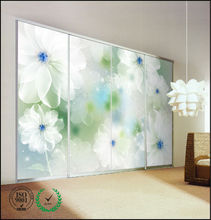 Durable Fireproof Easy To Install Bedroom Aluminium Wardrobe
