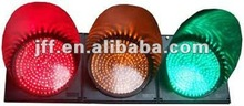 3 aspects LED traffic signla heads