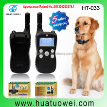 300 Meter Rechargeable and waterproof electric dog collar training with vibrate