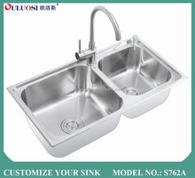 hot sale all over world short-time delivery pearl sand finish one piece bathroom sink and countertop S762A