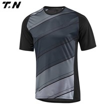 Black team soccer jersey sublimated