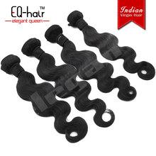 EQ Hair wholesale virgin indian hair deep wave , indian human hair, indian temple hair