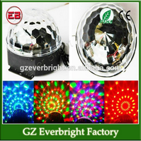 2015 Newest Mini RGB 3W LED Projector DJ Lighting Light Dance Disco Crystal Magic Ball Bar Party Xmas Effect Stage Lights Show