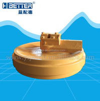 Good quality and best price ex200-5 front idler factory china forge part in fujian