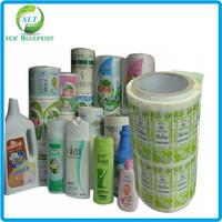 high quality self adhesive waterproof custom iml label