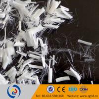 easy-dispersible fibers for asphalt pavement ,polyster staple fiber