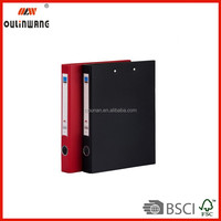 """3 Ring Binder 8-1/2 x 11"""" - 2"""" to 3"""" Capacity Mission or Menu Leatherette"""