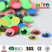 children activity mixed colors googly eyes