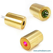 650nm 5mW 3V D10.5mm Red Laser Diode Module, Fixed Focus Glass Lens Red Laser Module for Laser Pointers