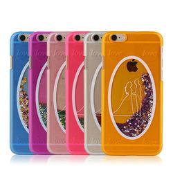 For iphone6 Star Bling,Liquid Glitter Star Case For iphone 6,Glitter Liquid Phone Case For iphone 6
