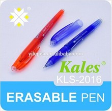 temperature controlled eco friendly erasable gel pen with diamomd