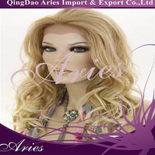 China factory wholesale good quality OEM heat resistant kanekalon fiber hair synthetic wig