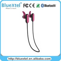 Pink Black Bluetooth earphone wireless connection support most smart phones