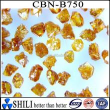 wholesaler industrial regular amber CBN dust for making cbn spiral bands