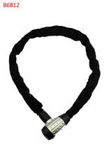 B6812 Chain Lock, Safe Chain Lock for Bicycle Motorcycle E-Bike Folding Bike bike lock