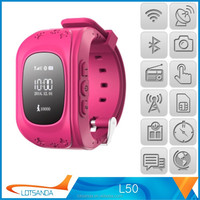 Brand new wrist watch personal gps trackers made in China
