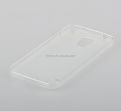 Transparent Matt Poly Jacket TPU case for Samsung Galaxy S5