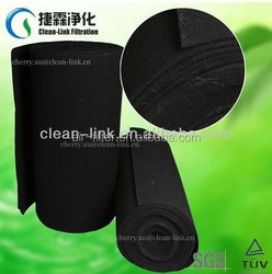 Factory Price 1.0*2.m/1.2*20m/2.0*20m Activated Carbon fiber felt, activated carbon filter cloth