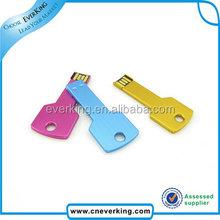 Cheap bulk 2GB 4GB key shape usb flash drive print your logo