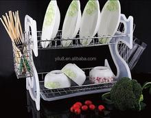 Wholesale modern design plastic dish rack and plate shelf