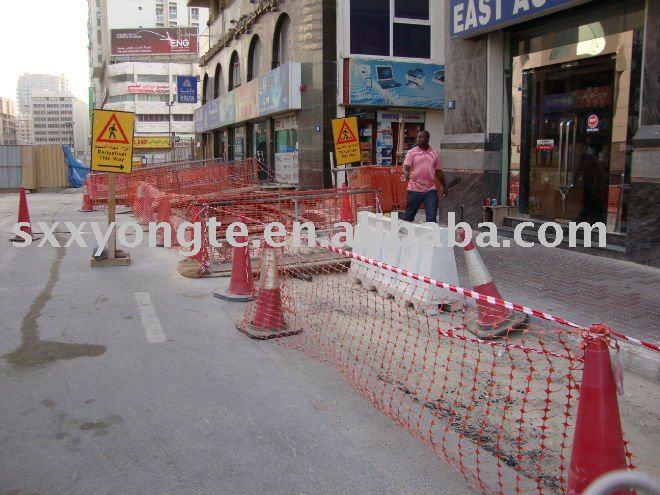 Orange plastic road barriers buy