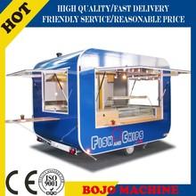 FV-58 food grilling cart/mobile food cart with frozen yogurt machine/electric mobile food carts