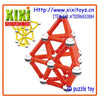 2015 Newest kids sticks and balls puzzle magnetic triangle toy
