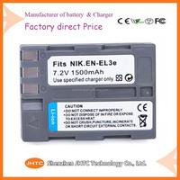 High Quality EN-EL3e EN EL3e ENEL3e Replacement Camera Battery For Nikon D300S D300 D100 D200 D700 D70S D80 D90 D50