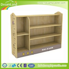 Hot-sale oak school bag shelf kids solid wood cabinet