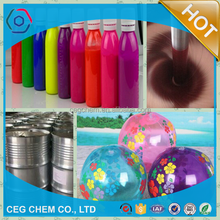 Colorful summer! Pigment paste join in making beach ball inflatable ball that is interesting playing