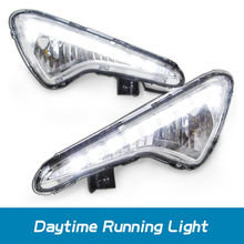 Hot sell led daytime running light for HYUNDAI SOLARIS VERNA ACCENT 2014 led drl led daytime light fog lamp fog light