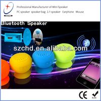 2013 New trend rechargeable bluetooth portable speakers with Volume control