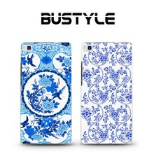 3D embossing hard PC cellphone case mobile phone case for Huawei P8