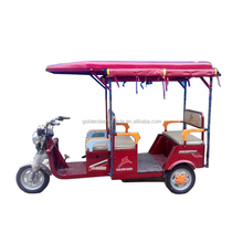 Wholesales auto rickshaw popular in Pakistan and india, Adult Electric tricycle with passenger seat similar to india velo taxi