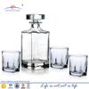 liquor whiskey glass decanter sets; shot glass whikey liquor gift set